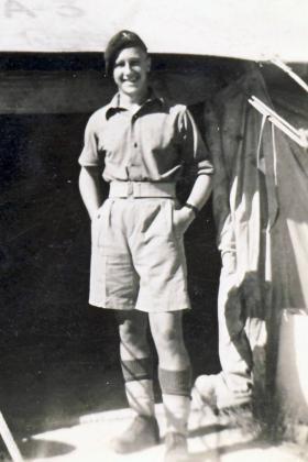 Pte David Kiy, Qastina, Palestine 1946