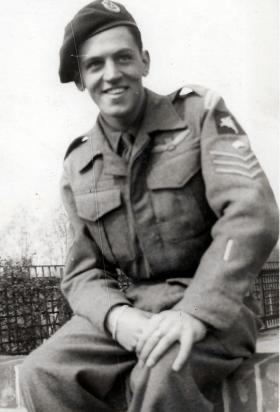 S/Sgt David Brook, 1944.