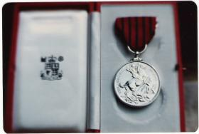 George Medal awarded posthumously to Sgt. David Garside 11 July 1979