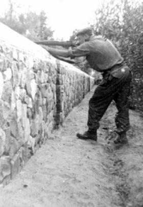David Gent, 3 PARA, Operation Musketeer, 1956.