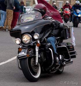 Harleypara - Ride of Respect 2013