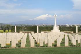 CWGC Catania War Cemetery, Sicily.