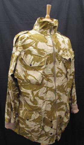 Desert Disruptive Pattern Material (DPM) Parachutists Smock, 2000s, from the Airborne Assault Museum Collection, Duxford.