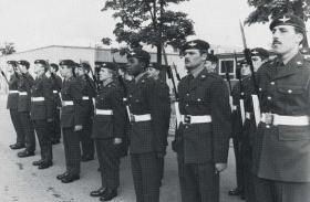 480 Platoon, Depot Para, 16 July 1982.