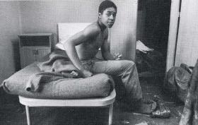 Dean Ward during recruit training, Depot Para, January 1982.