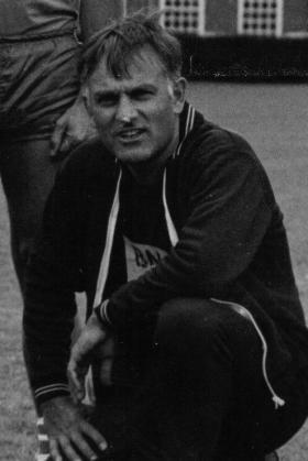 Lt Col Peter Dennison, 1988.