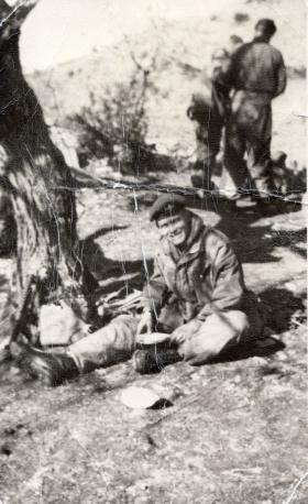 Pte Derrick Hall, 2 PARA, Troodos Mountains, 1956.