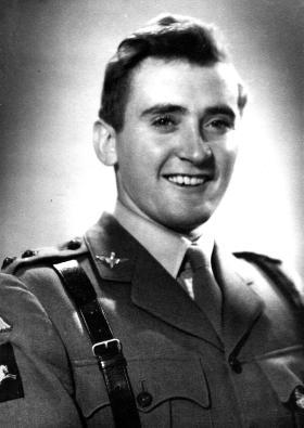 Lieutenant Dennis George Lashmar Haifa c1947