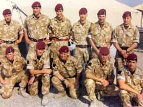 Members of 4 PARA on Op Telic 7, Iraq, 2006.