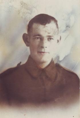 Gunner James Dickson, c1943.