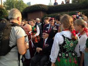 Luis DiMarco at the Arnhem 70th Commemorations, 2014.