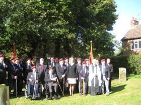 1st Para Sqn RE reunion, Donington, 2010.
