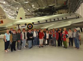 Members of the UNP and Ilford 84 PRA branch visit Airborne Assault,Duxford 22 May 2012.