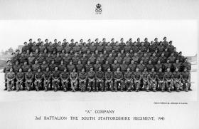 A Company, 2nd Battalion, The South Staffordshire Regiment, 1943.