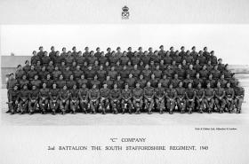 C Company, 2nd Battalion, The South Staffordshire Regiment, 1943.