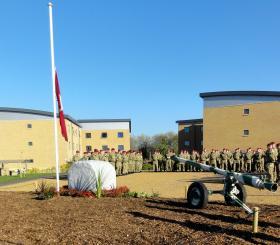 3 PARA Memorial Garden, Merville Barracks, Colchester 2012.