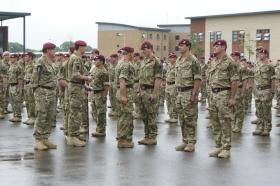 HRH The Prince of Wales, Colonel in Chief, Presents Campaign Medals, Colchester, June 2011