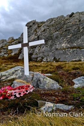 Sgt McKay and 3 PARA Memorials Mount Longdon