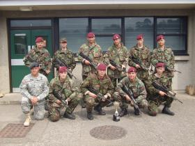 144 Para Med Sqn Team, Army Medical Services Territorial Army Patrol Winners 2006