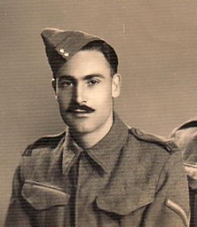 L/Cpl Dudley Pearson in Alexandria March 1942