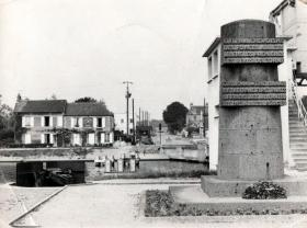 Gondre Café and old Pegasus sign, date unknown.