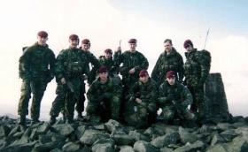 Members of Assault Pioneer Platoon, 2 PARA, Northern Ireland, 2002.