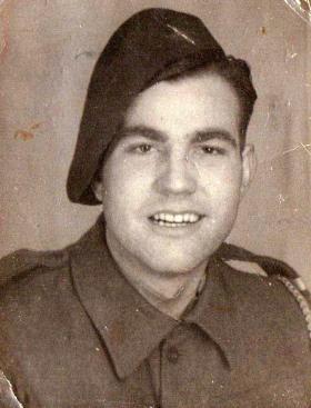 Private Edward Blackburn, date unknown.