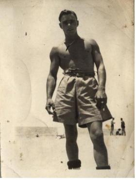 Roy Burns Palestine c1946