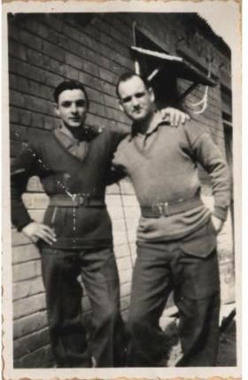 Two members of 6th Para Bn