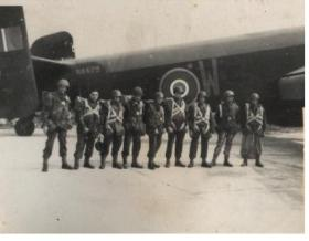 A stick from 6th Para Bn ready to emplane