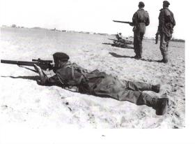 Unit Sniper Course,  Kassasin Ranges, Egypt 1952.