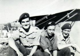 Members of 5th Para Bn, Nathanya, November 1946