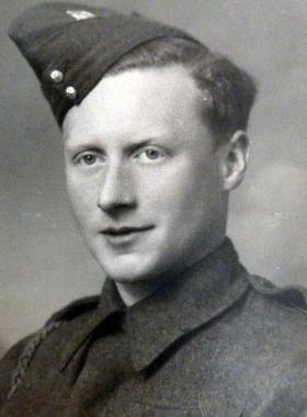 Private Ernest  Hewett date unknown.