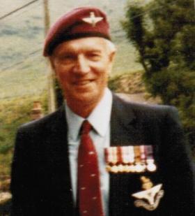 Ernie Read at Bruneval Commemoration 1982