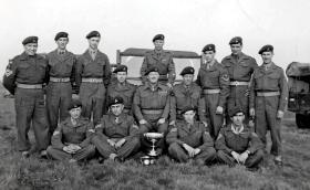 Winners of Essex Cup, 285 Airborne Light Regiment, RA TA c1954.