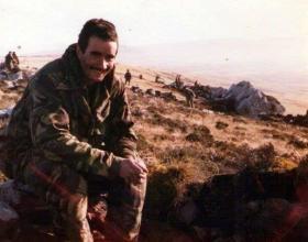 L/Cpl Eve, B Coy 2 PARA, Falklands 1982.