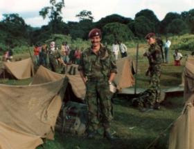 Graham Eve, B Coy 2 PARA, Kenya, c1981.
