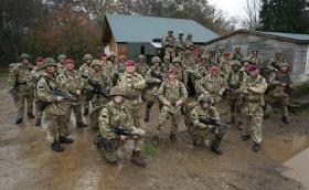 144 Parachute Medical Squadron RAMC (V) Ex Cold Serpent, Longmoor 2015.