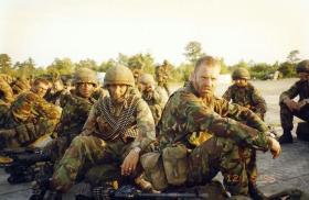 Paras on Exercise Purple Star, USA, 1996.