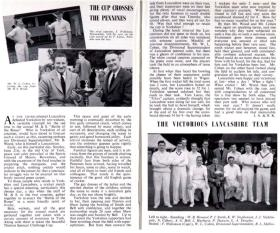 Excerpts from 'Sparks' (the Marks & Spencer staff magazine), 1953 and 1955.