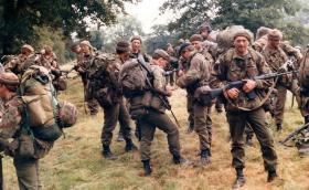 4 PARA, Exercise Brave Defender,  1985.
