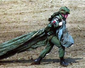 S/Sgt Dowling, Rhode Island Leapfest, 1988.