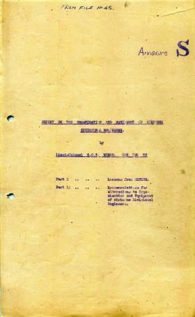 1 Airborne Division report on Operation Market Garden, part 3.