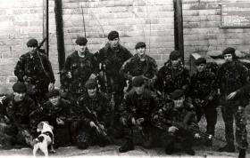 9 Platoon, C Company, 1 PARA, Northern Ireland 1988.