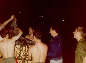 Resupply of MV Norland, Freetown, Sierra Leone, 03 May 1982