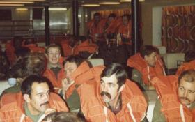 Life Boat Drills, MV Norland, 1982