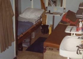 Cabin onboard the MV Norland, 1982