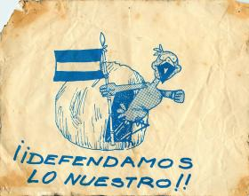 Falklands Campaign Propaganda, 1982.