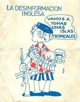 Falklands Propaganda, 1982.