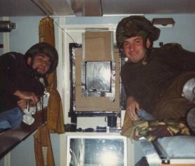 Red Alert Air Attack Drills, below decks on the MV Norland, 1982